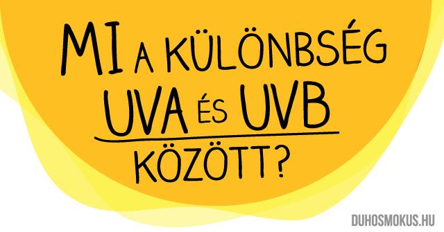 UVA és UVB