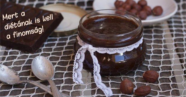 Házi nutellarecept, amit diéta alatt is elkészíthetsz