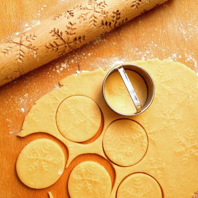 mintás keksz házilag