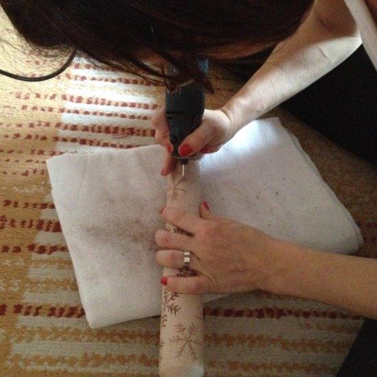sütinyomda készítése sodrófába gravírozással