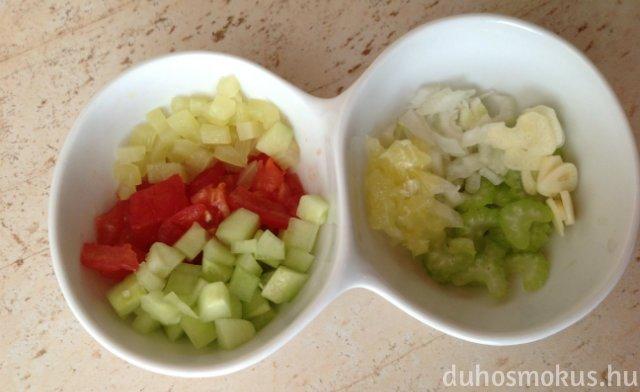 gazpacho - levesbetét