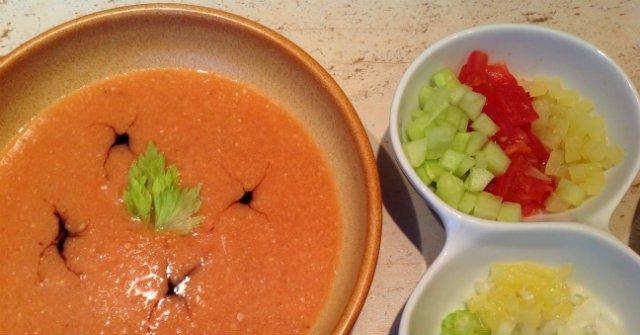 gazpacho spanyol zoldsegleves