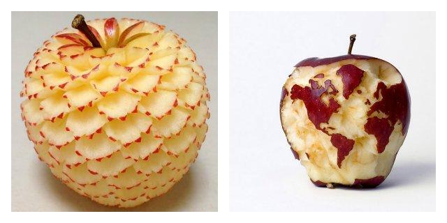 almaföldgömb és almavirág