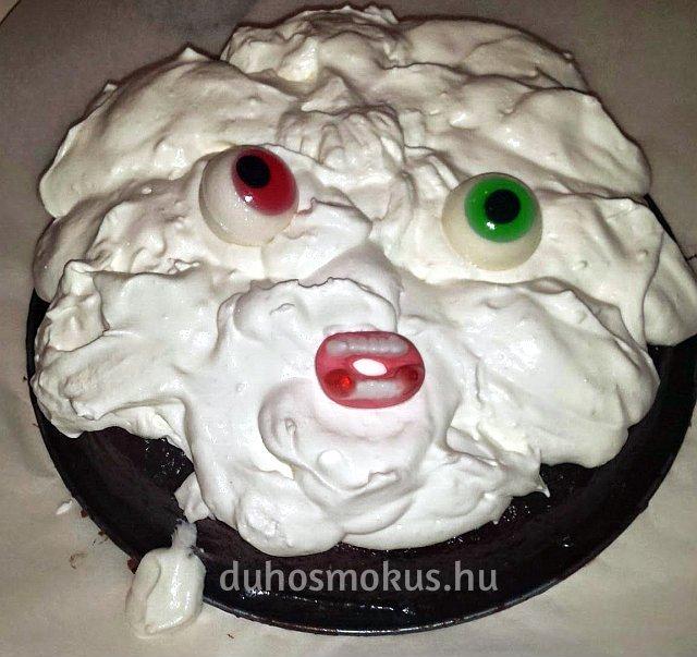 félelmetes tortafej