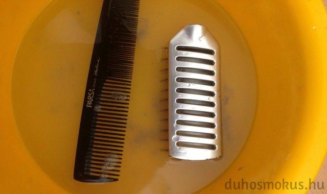koszos hajkefe/fésű tisztítása
